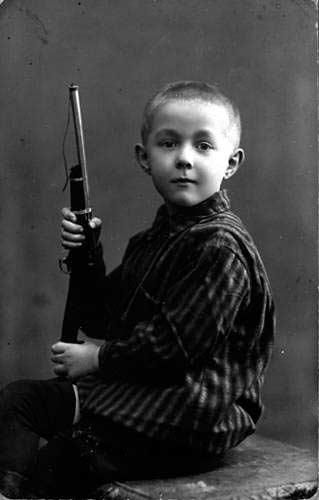 Солженицын в детстве
