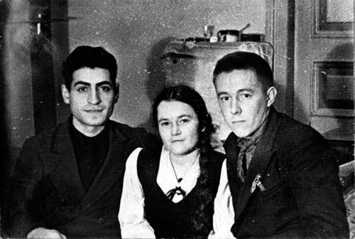 Школьные друзья Солженицына - Кирилл Симонян, Лида Ежерец
