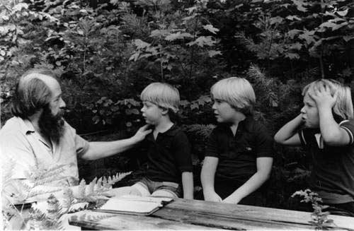 Солженицын и сыновья