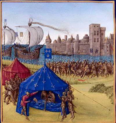 Людовик Святой в Восьмом Крестовом походе