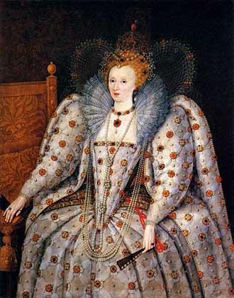 Королева Елизавета Английская