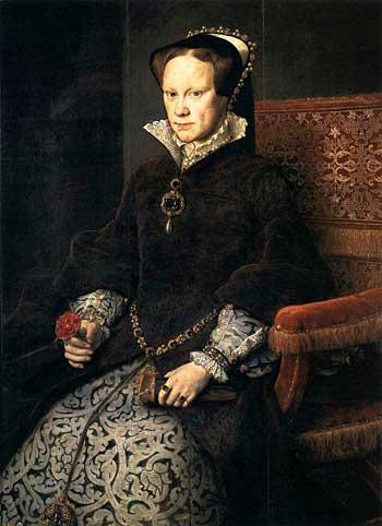 Мария Кровавая, королева английская