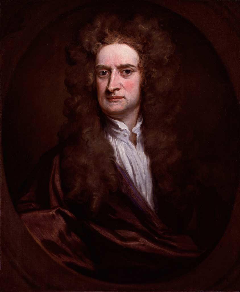 Ньютон Исаак краткая биография Русская историческая библиотека Портрет Ньютона