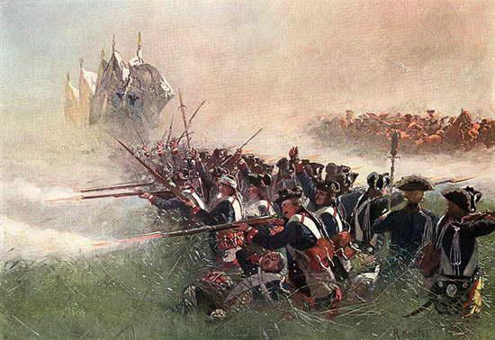 Семилетняя война. Битва при Коллине 1757