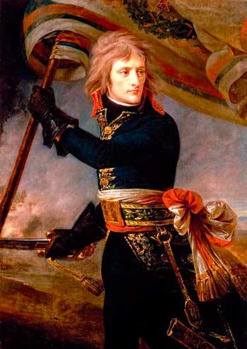 Наполеон на Аркольском мосту