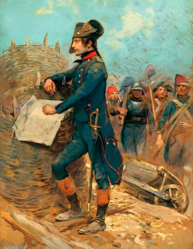 Наполеон Бонапарт биография Русская историческая библиотека Бонапарт во время осады Тулона