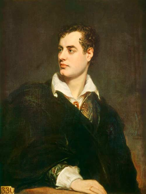 a biography of george gordon byron 6th baron byron and a poet