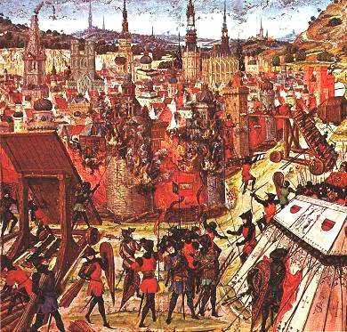 Взятие Иерусалима крестоносцами